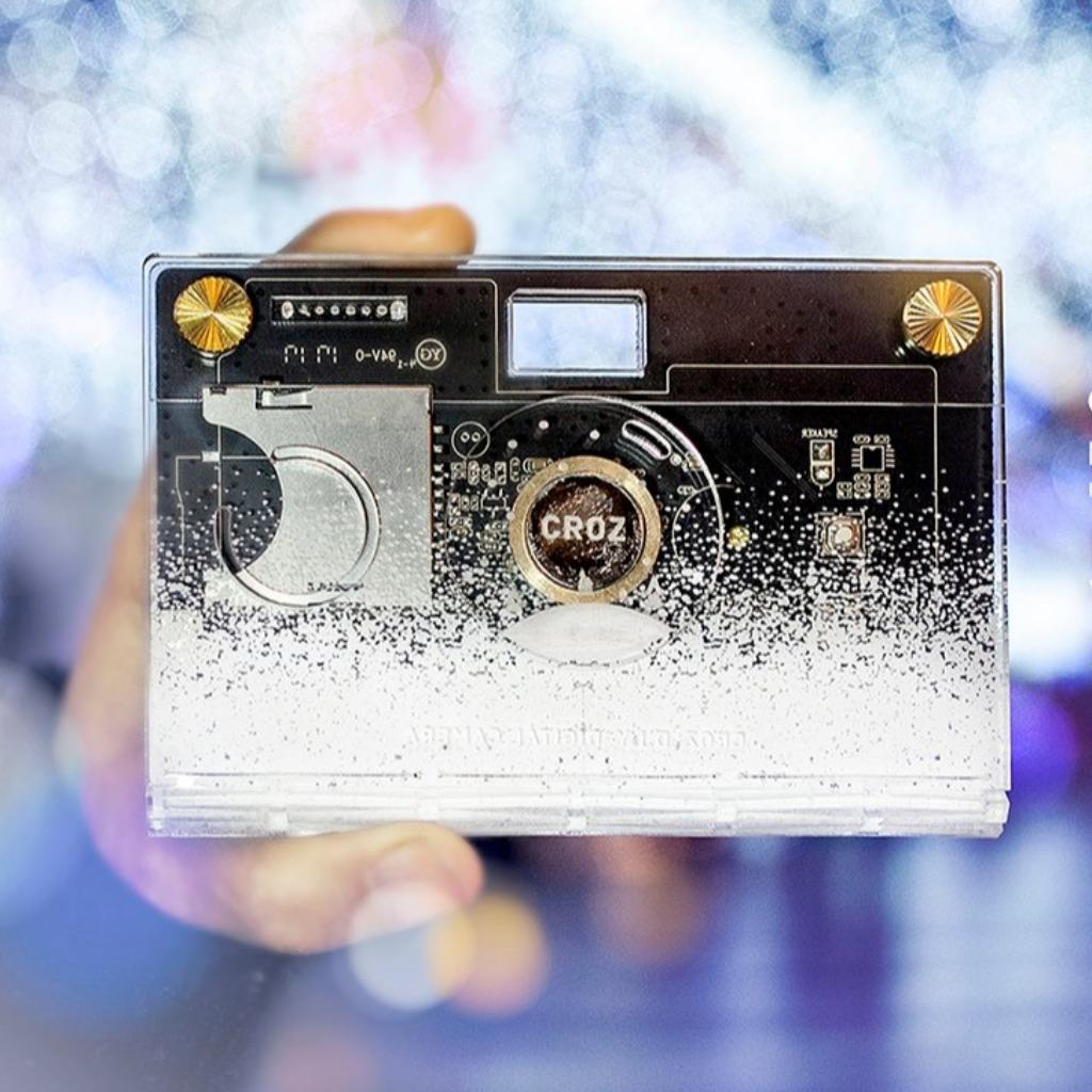[優惠區,售完即止] CROZ D.I.Y Digital Camera -雪花特別版