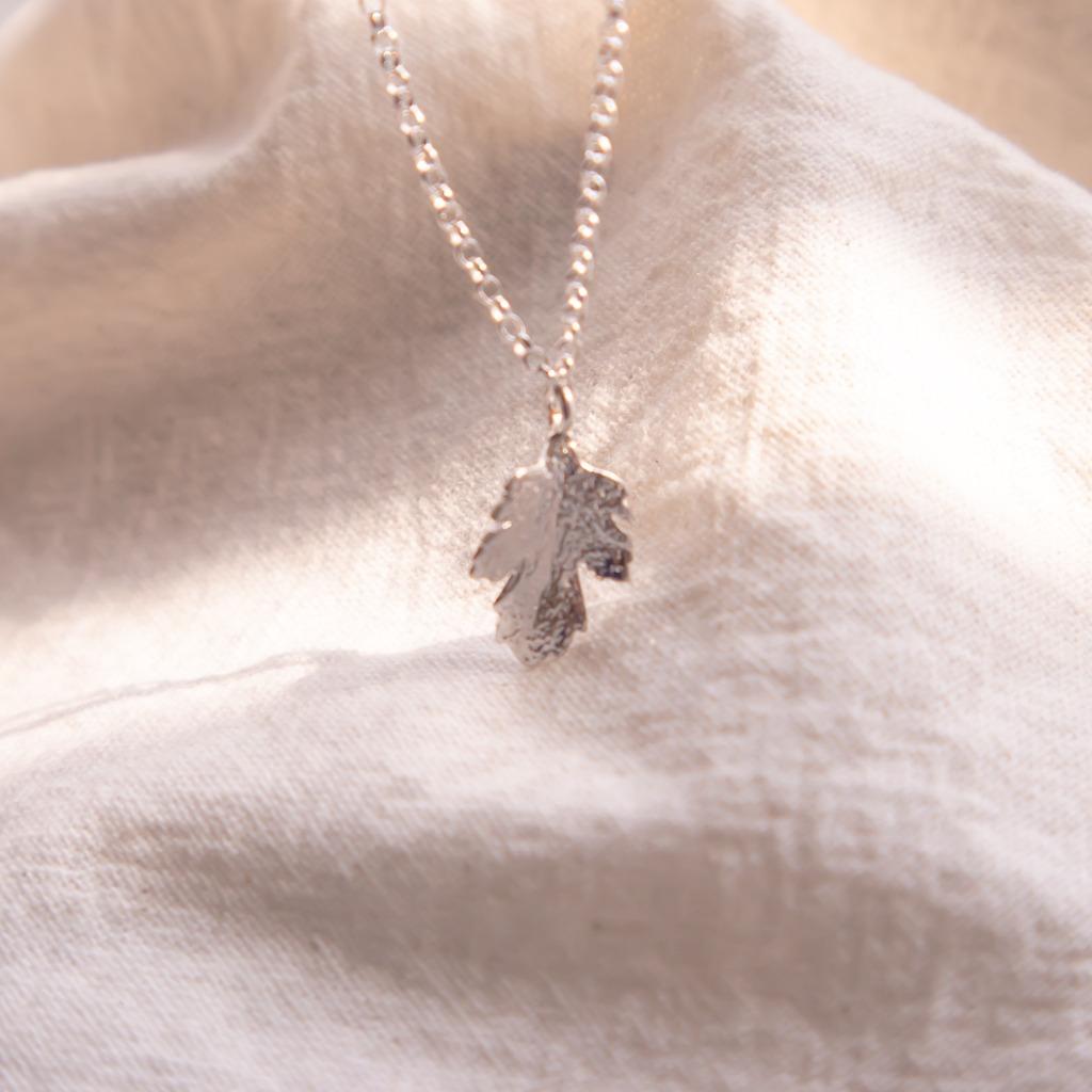 [433 Studio] 925 silver 楓葉 - 頸鏈- 銀