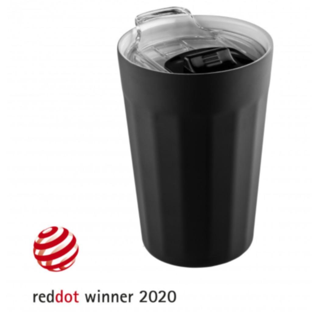 皇牌産品 黑色不鏽鋼真空隔熱保溫杯