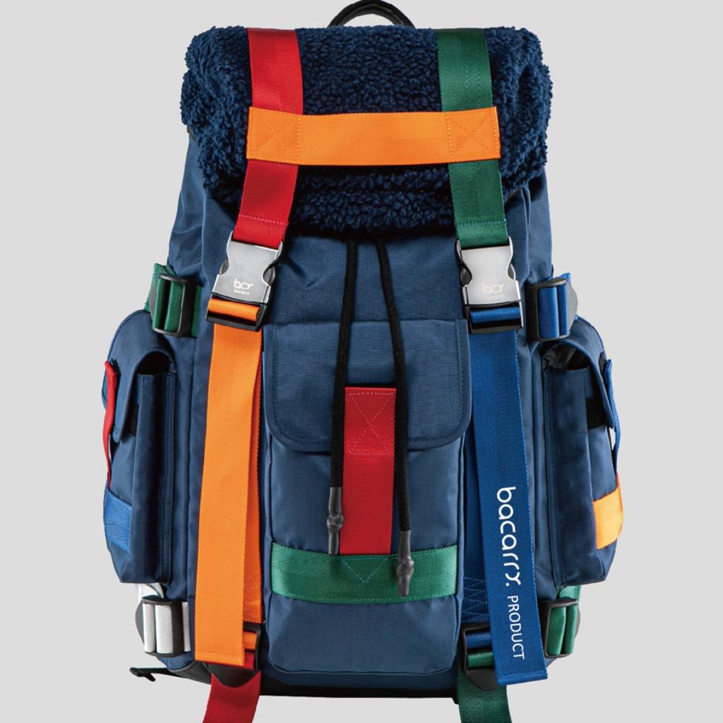【bacarry】Burano 彩色包 - 騎士藍