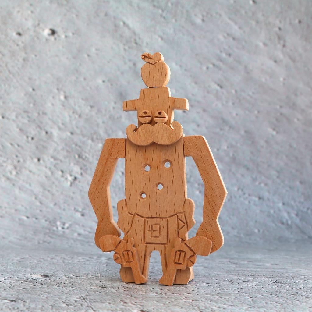 手工木製磁合擺設 木質模型 西部牛仔箭靶 禮物訂製