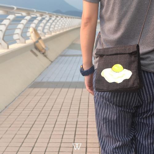 Wallflowers || 手繪外賣袋 - 煎蛋