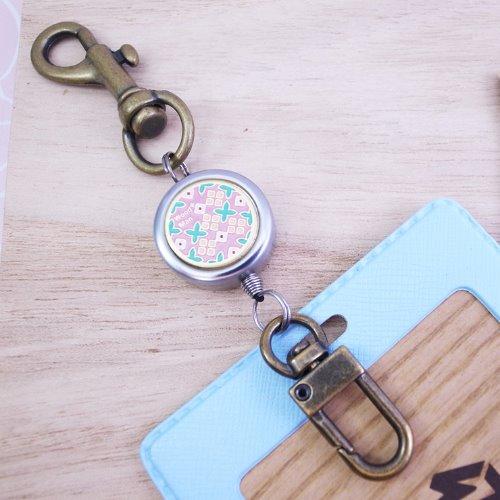 薇朗德禮花園,鉤式不鏽鋼伸縮票卡夾