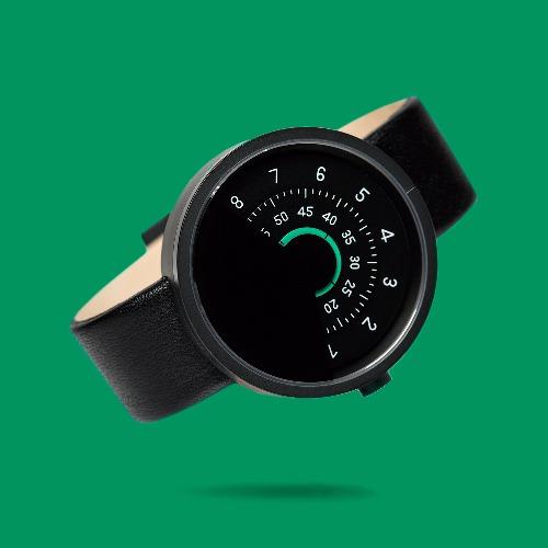ANICORN 簡約轉盤設計 - 時尚自動機械手錶 Series 000 - BG