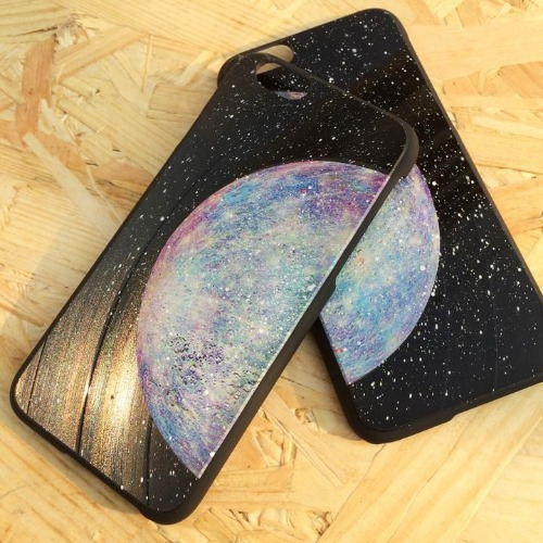 iPhone 5 / 5S 手機殼 彩色 水星 Mercury 黑膠唱片 保護殼【HIRAETH 浪漫星球系列】 (可以刻名)