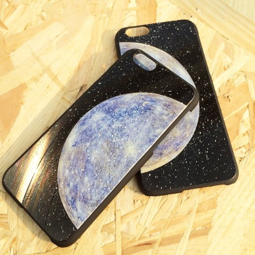 iPhone 6 Plus 6S Plus 手機殼 水星 Blue Mercury 黑膠唱片 保護殼【HIRAETH 浪漫星球系列】 (可以刻名)